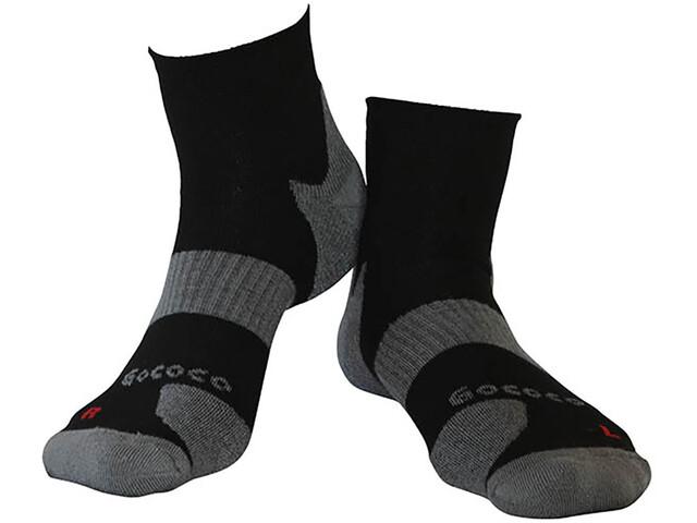 Gococo Technical Cushion High Wool Socks Black